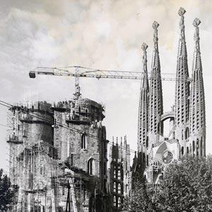Antoni Gaudis bekanntestes Werk - La Sagrada Familia